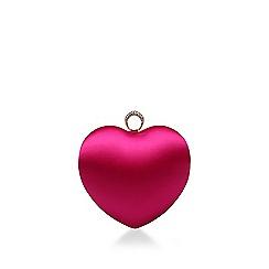 Carvela - Pink 'Love Clutch' heart clutch bag