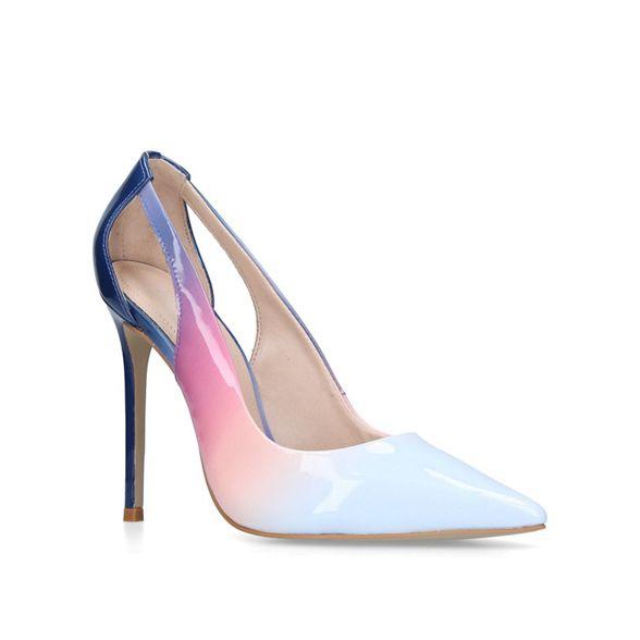 Pink court shoes heeled 'Alexis' Carvela stiletto ZdxwqSgg1