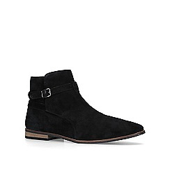 KG Kurt Geiger - Black 'Euan' suede ankle boots