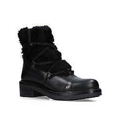 Carvela - Black 'Sharp' leather biker boots