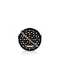 Carvela - Black 'Alabaster' embellished clutch bag