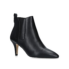 Carvela - Black 'Sage' mid heel ankle boots
