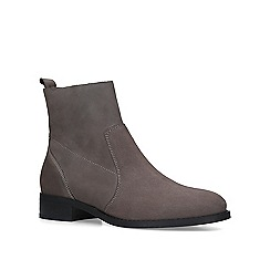 Carvela - Grey 'Sail' leather ankle boots