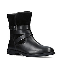 Carvela - Black 'Saturn' Leather Hiker Boots