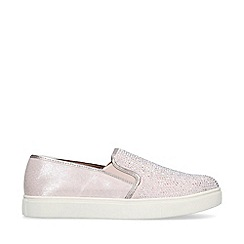 Carvela - Nude 'Jamm' slip on trainers