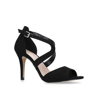 Carvela - Black 'Jetty' toe stiletto heeled open toe 'Jetty' sandals dff4fc