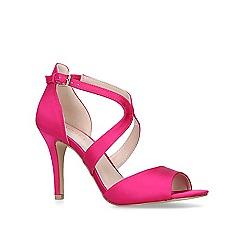 Carvela - Pink 'Jetty' stiletto heeled open toe sandals