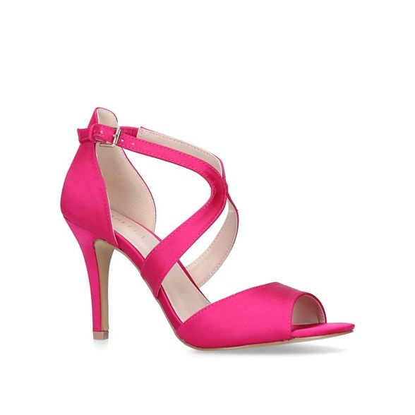 heeled toe Pink sandals open Carvela 'Jetty' stiletto Xqtnwn14