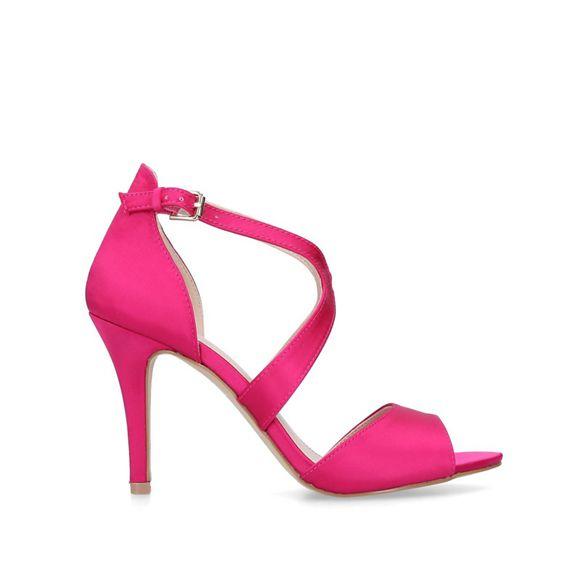 stiletto 'Jetty' Pink sandals toe heeled Carvela open 1aFp8RwcEq