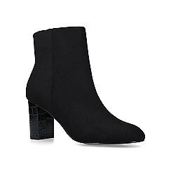 Carvela - Black 'Simmer' mid heel ankle boots