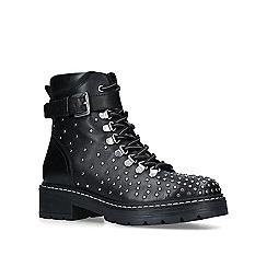 Carvela - Black 'Shiver' studded ankle boots