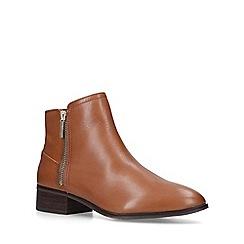 ALDO - Tan 'Adryssa' leather ankle boots