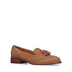ALDO - Tan 'Aferinna' tassel loafers