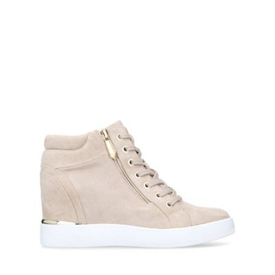 Aldo   Beige 'ailanna' High Top Trainers by Aldo