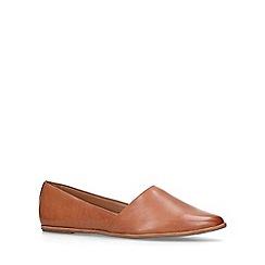 ALDO - Tan 'Blanchette' slip on loafers