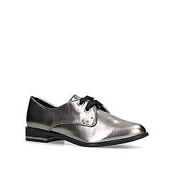 ALDO - Metallic 'Ederabeth' silver flat shoes