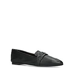 ALDO - Black 'Elalecia' flat loafers