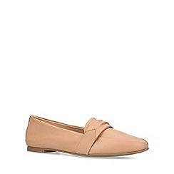 ALDO - Tan 'Elalecia' flat loafers