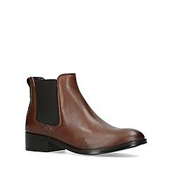 ALDO - Brown 'Eraylia' leather ankle boots