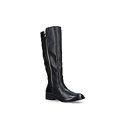 ALDO - Black 'Gaenna' leather high leg boots