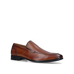 Aldo - Tan 'Korema' leather loafers