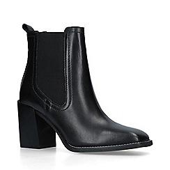 ALDO - Black 'Grerasa' mid heel ankle boots