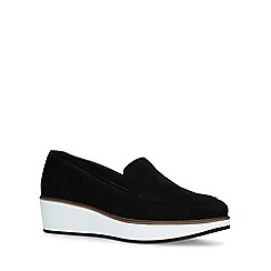 Aldo - Black 'Nydaedda' flatform loafers