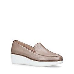 ALDO - Gold 'Nydaedda' flatform loafers