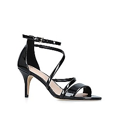 ALDO - Black 'Onalinia' patent heeled sandals