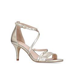 9cf1d6595cc ALDO - Gold  Onalinia  leather heeled sandals