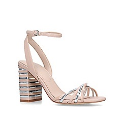 ALDO - Pink 'Taledia' metallic block heel sandals