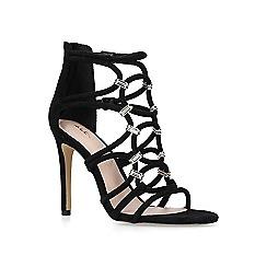 ALDO - Black 'Umaledia' embellished high heeled sandals