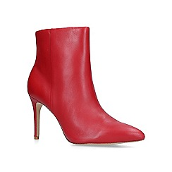 Aldo - Red 'Weima' leather ankle boots