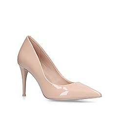 ALDO - Nude 'Traycey' patent court shoes