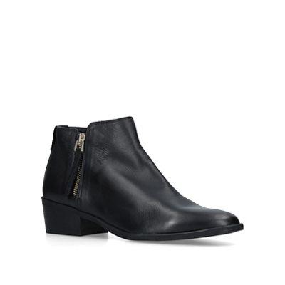 Aldo   Black 'veradia' Leather Ankle Boots by Aldo