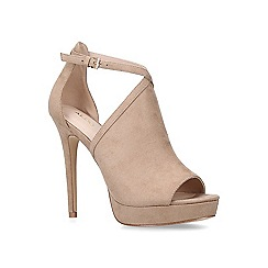 ALDO - Nude 'Yerasa' suede stiletto heeled sandals