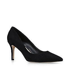 ALDO - Black 'Coroniti' suede high heel court shoes