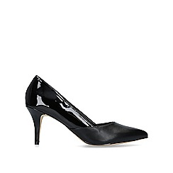 Nine West - Black 'Fox' mid heel court shoes