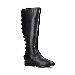 Nine West - Black 'Bayley' leather knee high boots