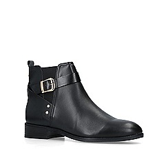 Nine West - Black 'Constant' leather ankle boots