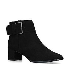 Nine West - Black 'Castle' low heel ankle boots