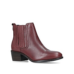 Nine West - Wine 'Create' low heel ankle boots