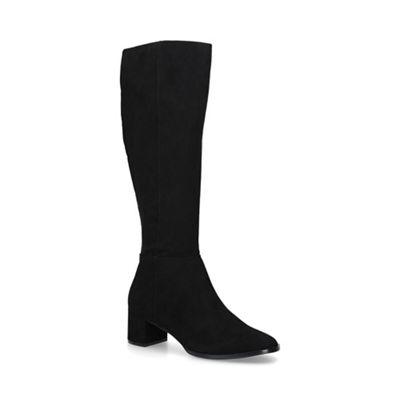 Nine West   Black 'catch' Low Heel Knee High Boots by Nine West