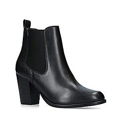 Carvela - Black 'Sly' Leather Ankle Boots
