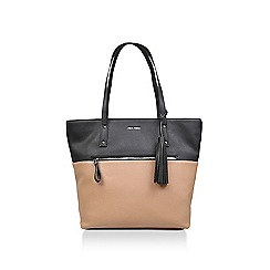Nine West Brown California Casual Tote Bag