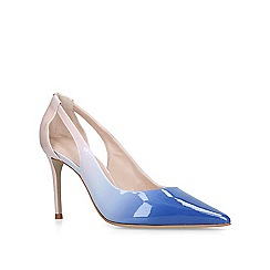 Carvela - Blue 'Alicia' stiletto heeled court shoes