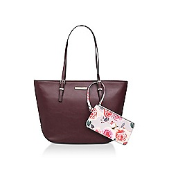 Nine West Red Society Tote Bag
