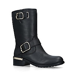 Vince Camuto - Black 'Wantilla' leather calf boots
