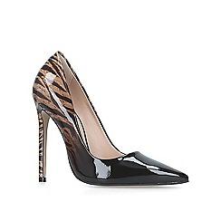 Carvela - Brown 'Allie' high heel court shoes