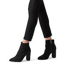 Carvela - Black 'Spark' embellished block heeled boots